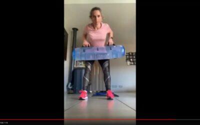 Aquafitbag M : Séance 2 circuit training Laura