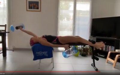 Aquafitbag XS : Séance d'exercices avec Eléa 11 ans