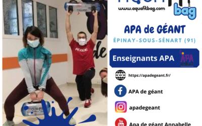 Unboxing par toute l'équipe d'APA de Géant