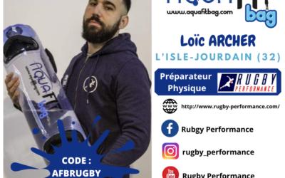 Unboxing de Loïc de Rugby Performance