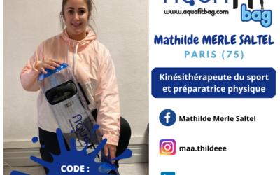 Unboxing Mathilde Kinésithérapeute du sport
