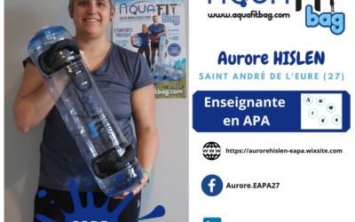 Vidéo extrait Aurore HISLEN enseignante APA