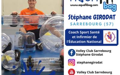Vidéo séance volley assis avec Stéphane Girodat
